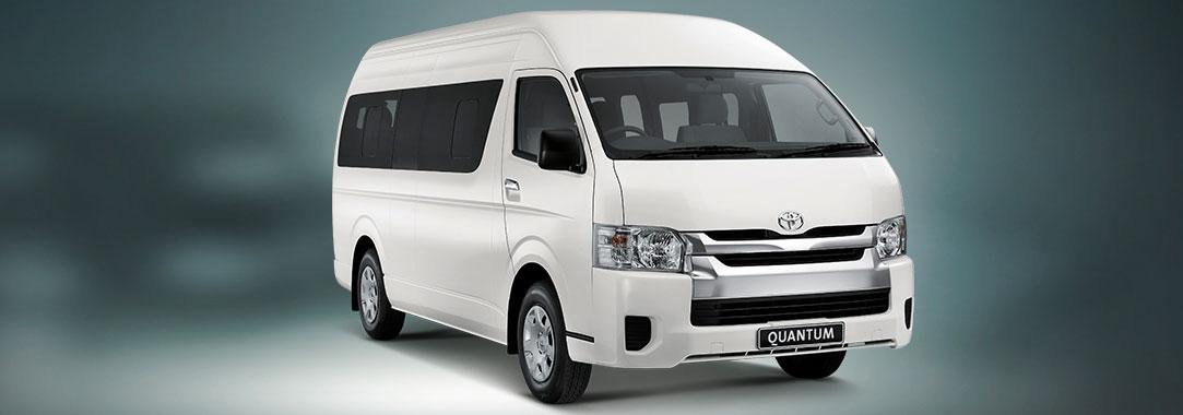 Toyota's 10-seater Quantum