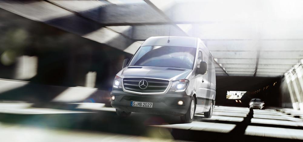 The Mercedes-Benz Sprinter